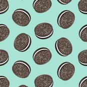 Chocolate Cookies - aqua - LAD19