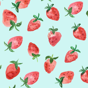 strawberry repeat mint