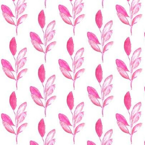 Leaves in Pinks, Stacked