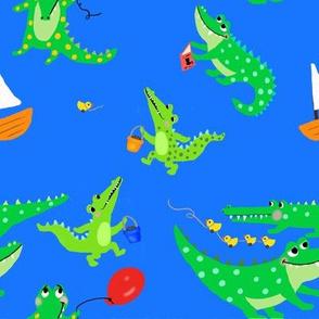 Crocodile crazy