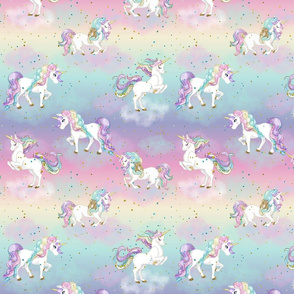 Pastel Rainbow Unicorn