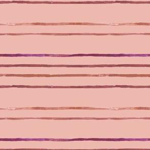 Take Flight Raspberry Stripe on Blush