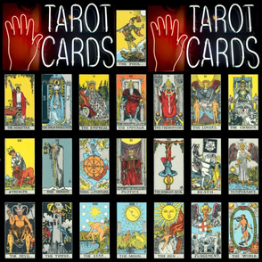 Tarot Cards Classic on Black