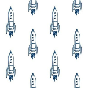 rockets fabric outer space quilt coordinates navy