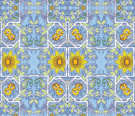 After The Rain fabric by edsel2084 on Spoonflower - custom fabric