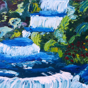 Oil Painting YS Falls