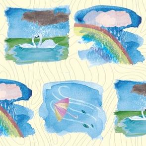 Spring Rain Vignettes