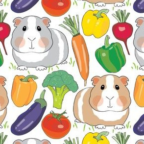guinea-pigs-and-veggies