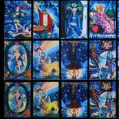 Tarot Cards Spiritual Blue
