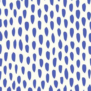brush strokes blue