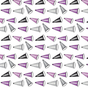 Cheer Mix purple gray black - MED7