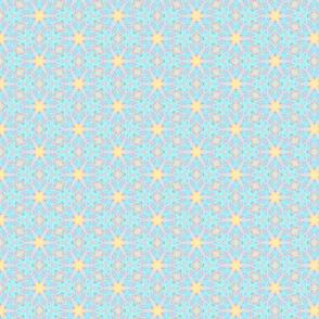 Spring Teal Mosaic