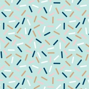 aussie sprinkles - mint