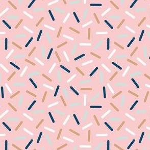 aussie sprinkles - blush pink