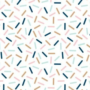 aussie sprinkles - white
