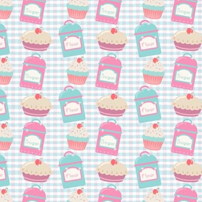 Flour And Sugar For Tasty Bakes