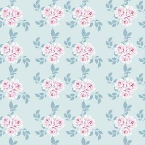 Pink Peonies Shabby Chic