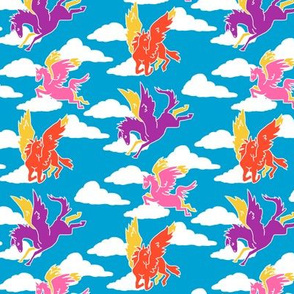 Bright Trendy1970s Pegasus