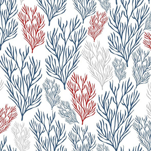 Red & Blue Seaweeds