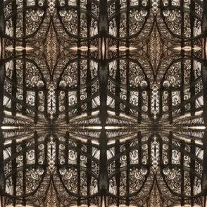 Mirrored Architecture Diamonds and Arches