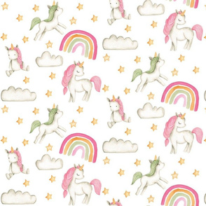Pink Unicorn Rainbow