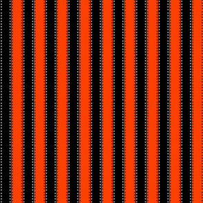 orange and black skull stripe