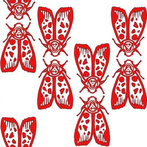 Red Death's Head Moth Kiss/ Totenkopf Moth Kuss - by Su_G_©SuSchaefer