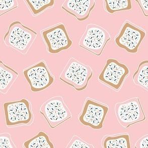 little aussie fairy bread - blush pink