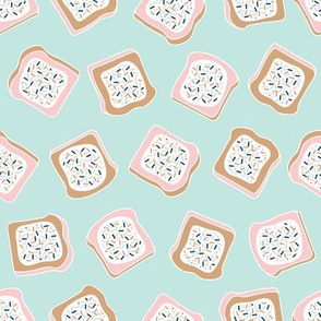 little aussie fairy bread - mint