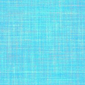 faux linen sky blue