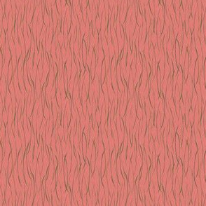 Tropical Coral Stripe