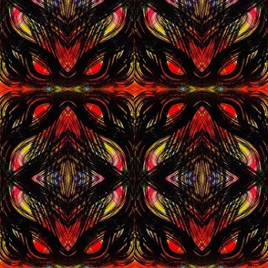 Black and red design