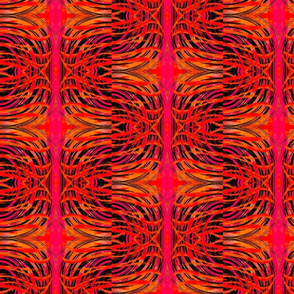 S shape pattern magenta