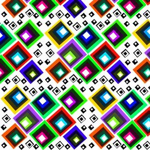 Squares! #2 white