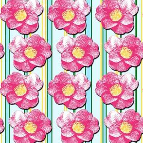 Tumbling  Camellias