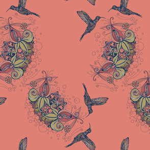 Hummingbird Lighter background
