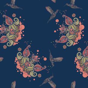 Hummingbird Navy