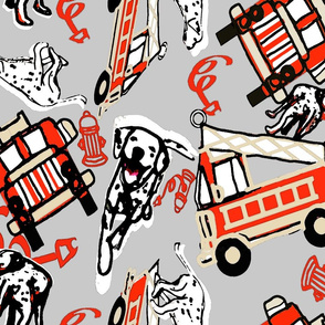 Firehouse Dogs Way gray