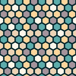 Basic hexagon pattern