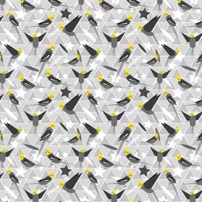 Geometric cockatiels