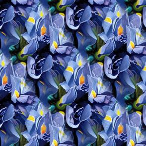Irises Tiled