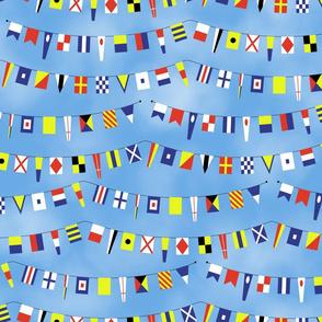 Nautical Celebration Flags