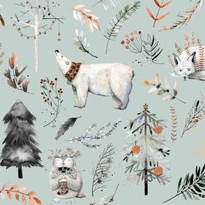 Winter Woodland Wonderland // Conch