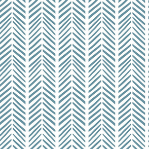 Nautical herringbone