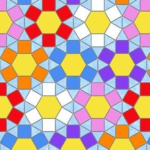 Crazy Daisy Mosaic