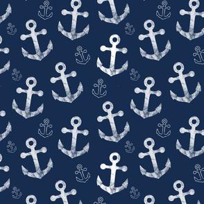 Anchors Navy