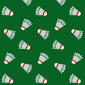 Shuttlecock  / On Green / Badminton