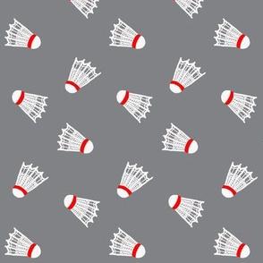 Shuttlecock  / On Grey / Badminton