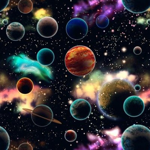 Space and Planets Temporary Small