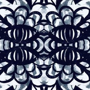 Symmetry, eyes, flowers, petals